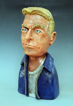 Billy Ray Mangham sculpture 2